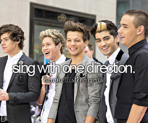 one direction, 1d, and sing image
