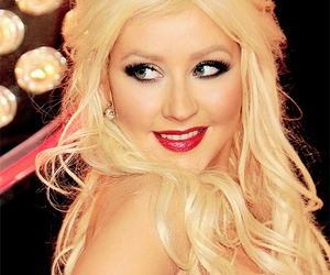 amazing, christina aguilera, and make up image