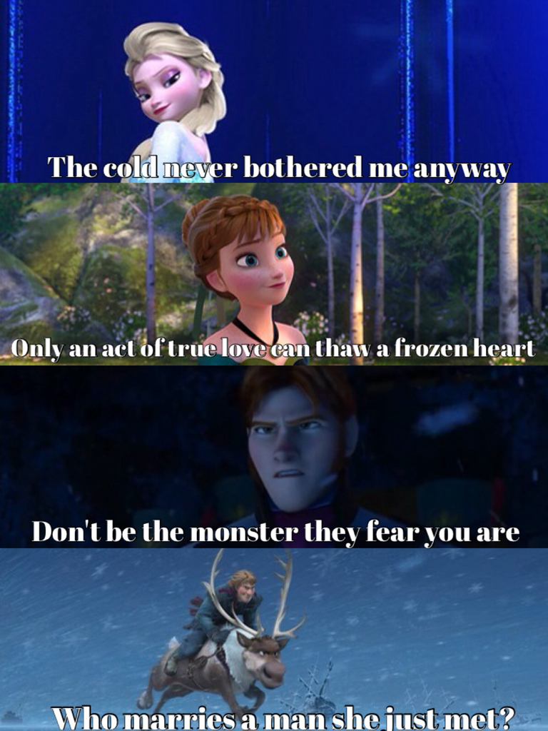 Frozen Quotes❤️ shared by Eva on We Heart It