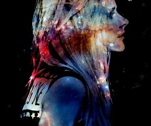 Avril Lavigne, galaxy, and perfect image