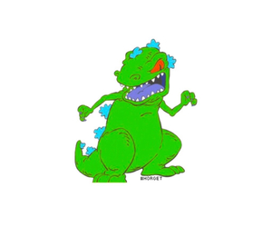 overlay, transparent, and reptar image