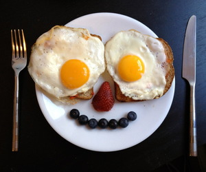 breakfast, food, and blueberry image