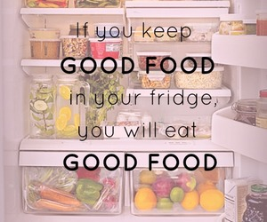 fit, true, and good food image
