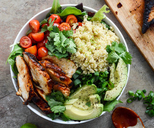 avocado, quinoa, and fitspo image