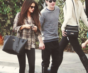 selena gomez, niall horan, and siall image