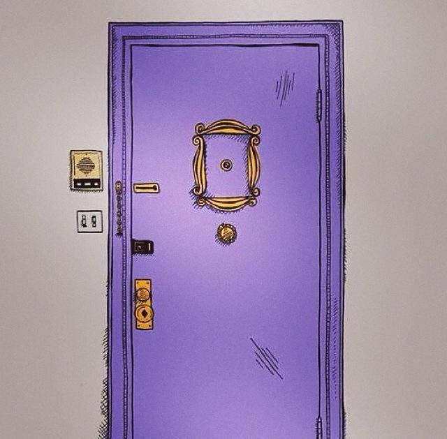 & Monica\u0027s Door discovered by Bárbara on We Heart It