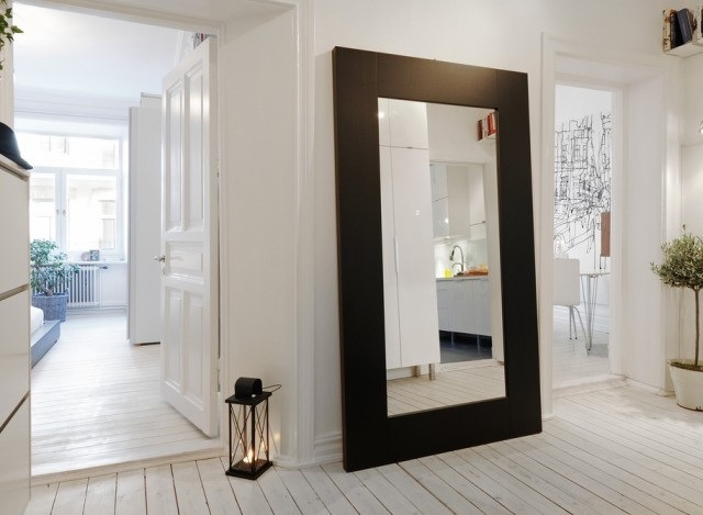 interior, mirror, and home image