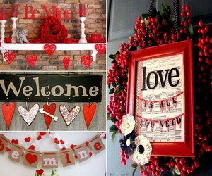 valentine, valentines day, and decoration ideas image