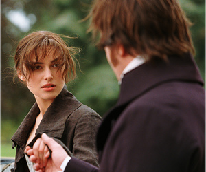 couple, elizabeth bennet, and keira knightley image