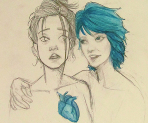 blue, love, and blue is the warmest color image