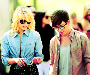 dianna agron, glee, and kevin mchale image