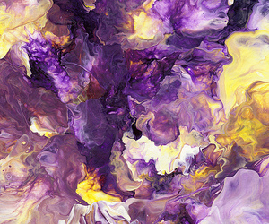 art, purple, and painting image
