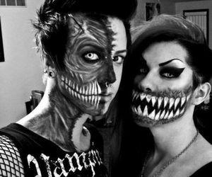 couple, Halloween, and boy image