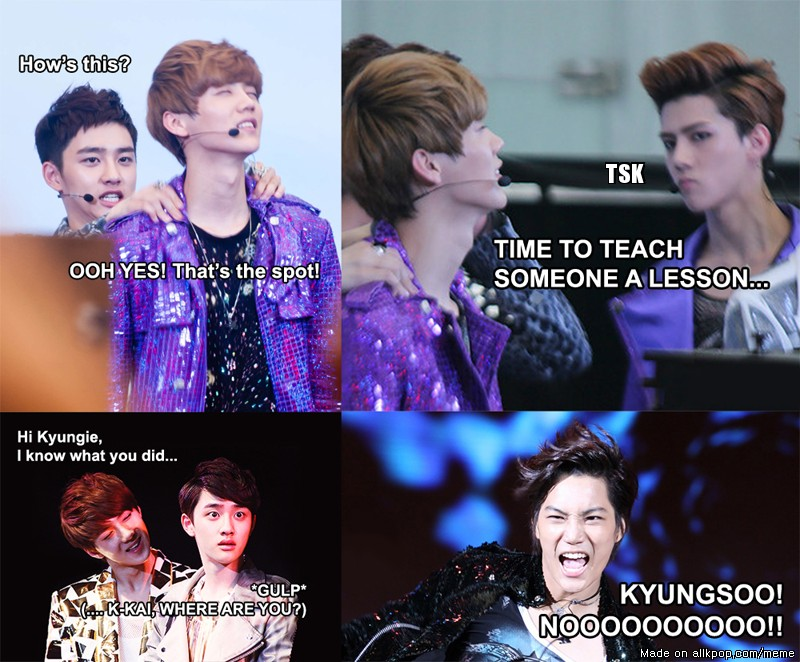 original meme exo discovered by saranghae k pop on we heart it