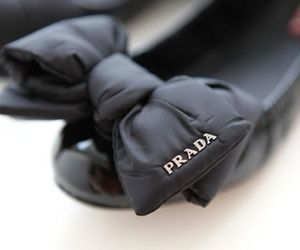 Prada, shoes, and black image