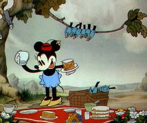 disney, mouse, and picnic image