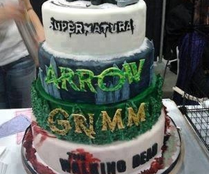 arrow, supernatural, and grimm image