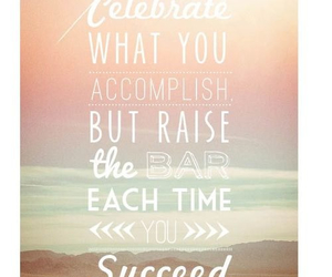 quote and celebrate image