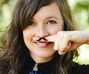 fingerstache, mustache, and like a sir image