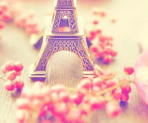 paris, pink, and pretty image