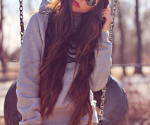 girl, hair, and hipster image