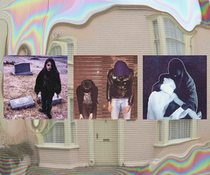 Crystal Castles, pale, and sad image