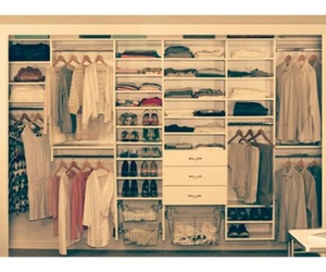 bedroom and closet image