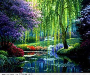 nature, garden, and france image