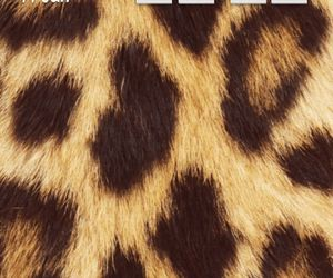 animal print, quote, and citati image