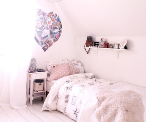 bedroom, cute, and love image