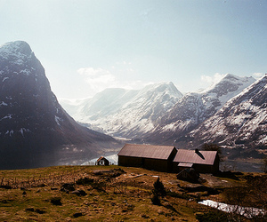 mountains and landscape image