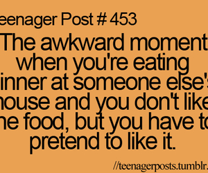 teenager post, food, and quote image