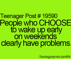 problem, weekend, and funny image