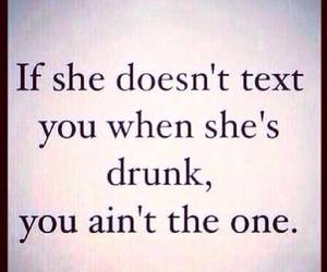 drunk, love, and text image
