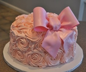 bow, cake, and eat image