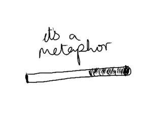 the fault in our stars, metaphor, and tfios image