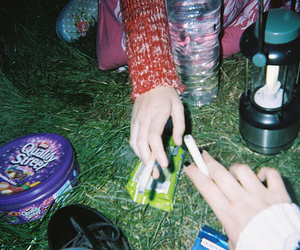 grunge, indie, and cigarette image