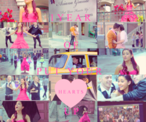 video clip, ariana grande, and put your hearts up image