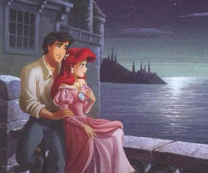 ariel, redhair, and love image
