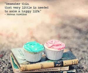 quote, cupcake, and book image