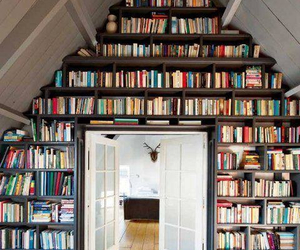 book, home, and nerd image