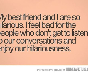 best friends, hilarious, and funny image