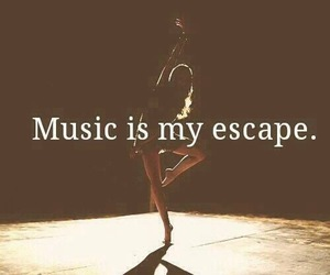 dance, escape, and music image