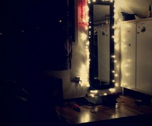 cozy, dark, and decoration image