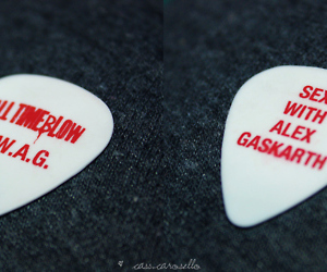 s.w.a.g, all time low, and sex with alex gaskarth image