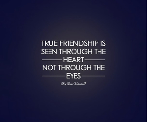 quote, friendship, and heart image