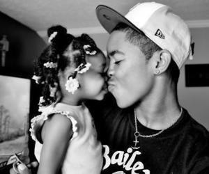 cute, boy, and kiss image