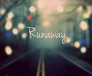 runaway, light, and city image