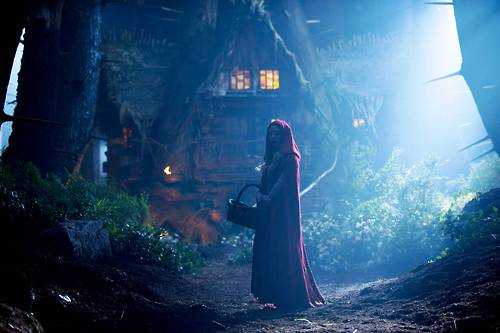 red riding hood and red image