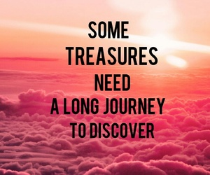 quotes, sunset, and treasure image